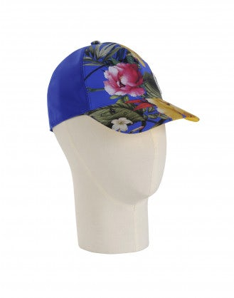 WATCH OUT: Blue floral baseball cap