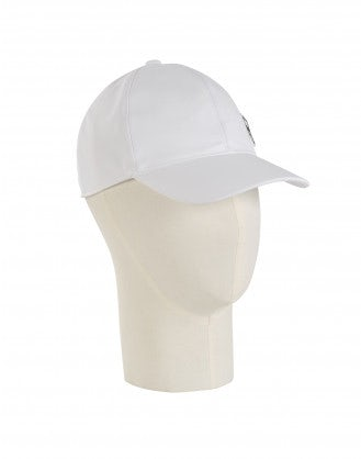 WATCH OUT: White baseball cap