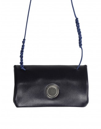 FORTUNE: Navy purse necklace
