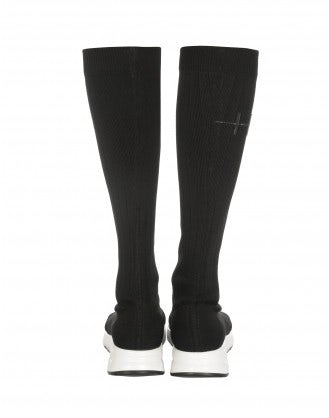 TRANSMIT: Stretch jersey sock-boot