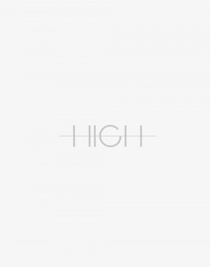 SLIP: Canotta asimmetrica a righe borgogna e bianche