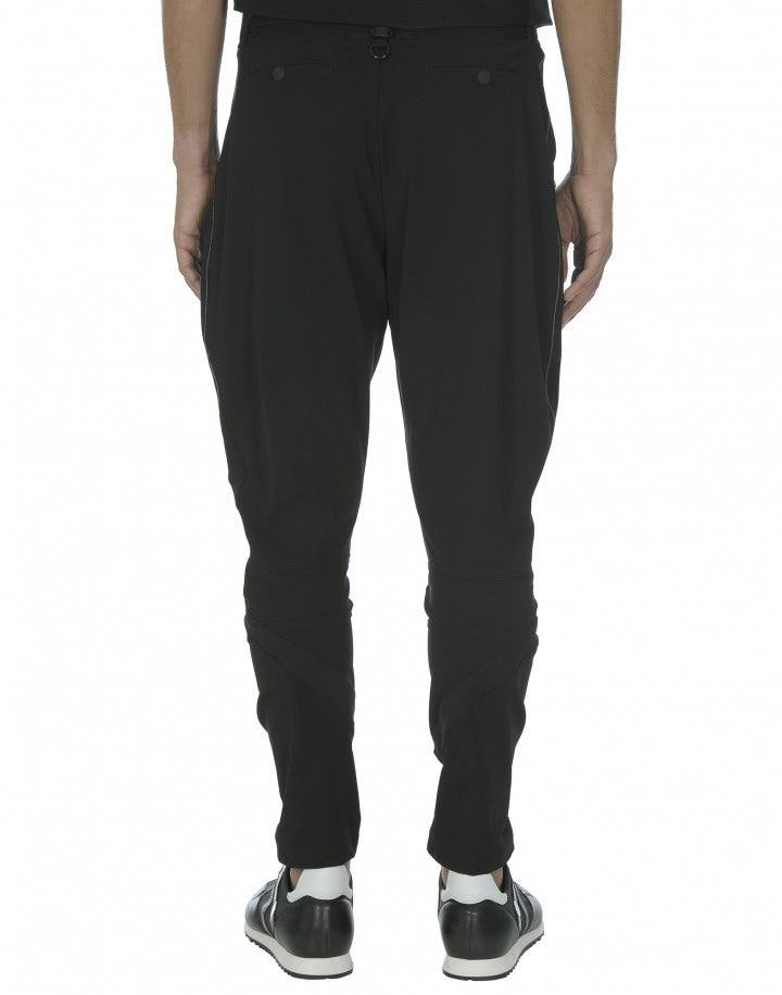 LUDVIG: Pantaloni neri in Sensitive®