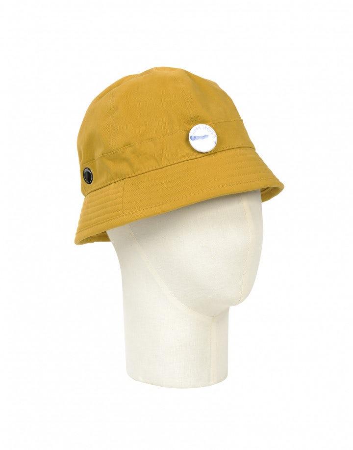 ANGLER: Cappello da pescatore in twill giallo