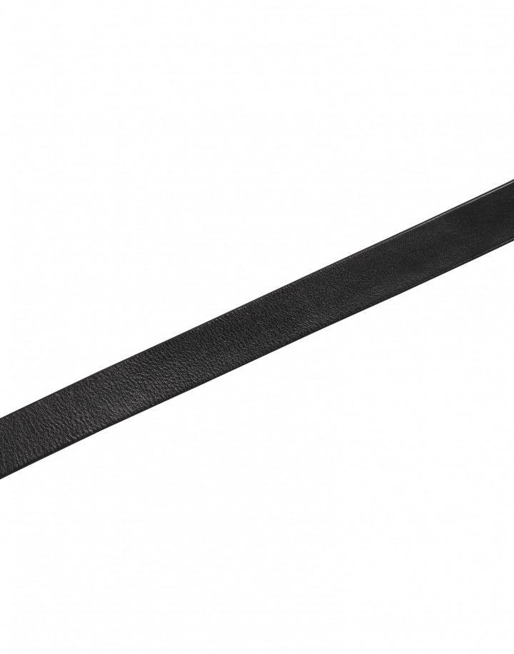 BROKE: Cintura in pelle nera