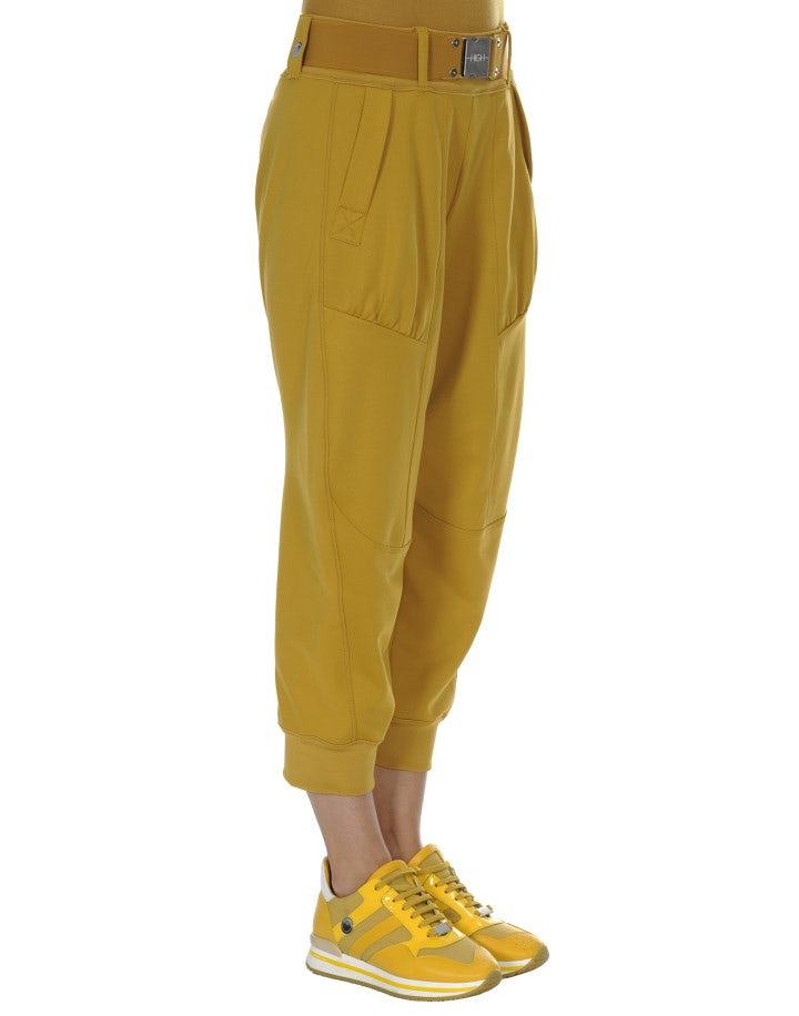 POUNCE: Pantaloni sportivi con cintura, color calendula