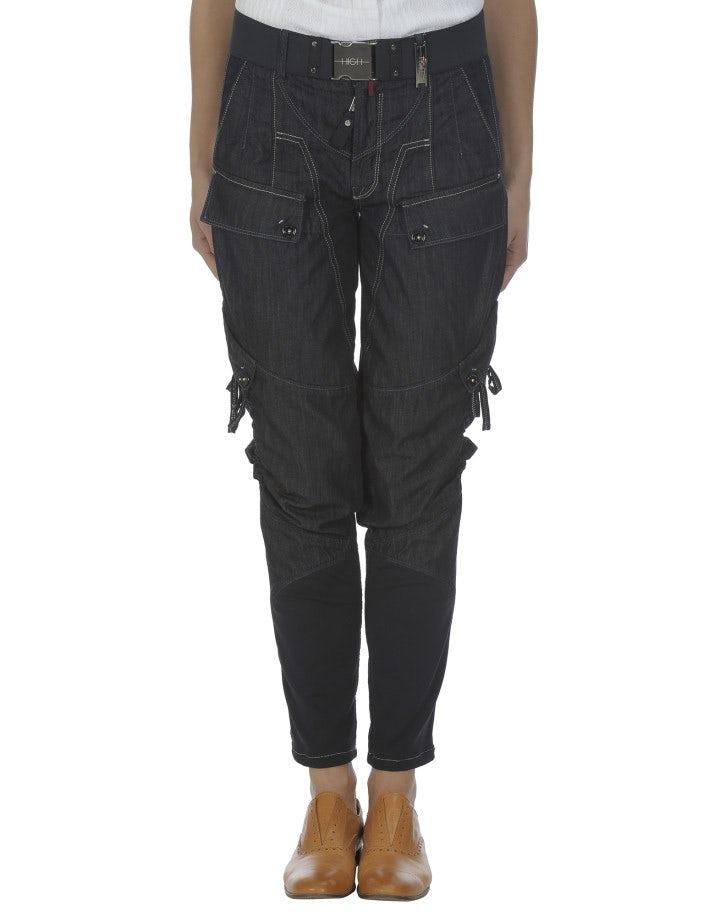 CRITTER: Jeans in style jodhpur blu