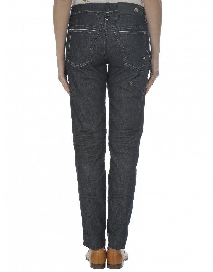 """CALL-ME: Jeans aderenti con lavaggio """"Resin 3D"""""""