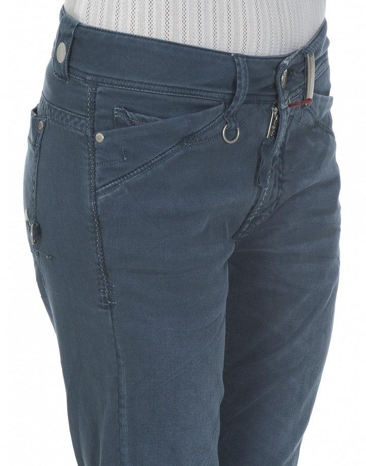 CAPITAL: Pantaloni a gamba dritta blu