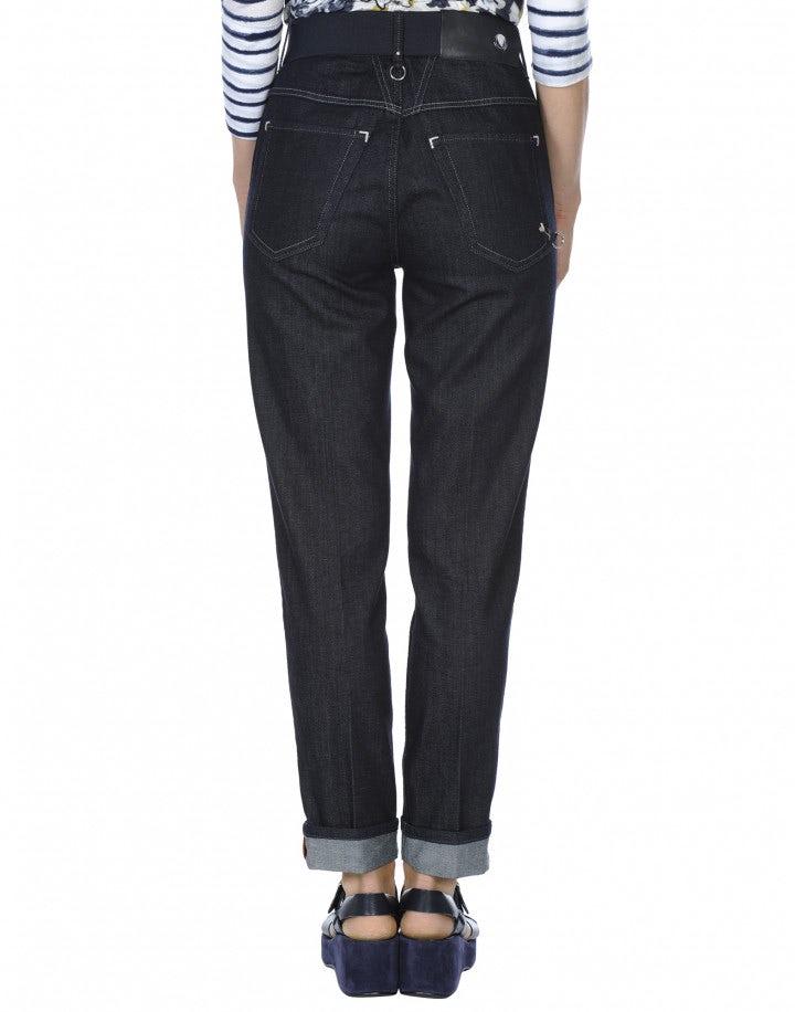 """MARYLIN: Jeans comodi con lavaggio """"clean rinse"""""""
