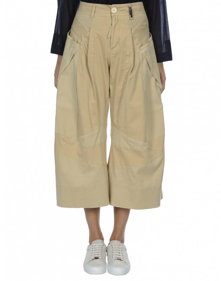 SAUNTER: Pantaloni con pannelli e cuciture multipli