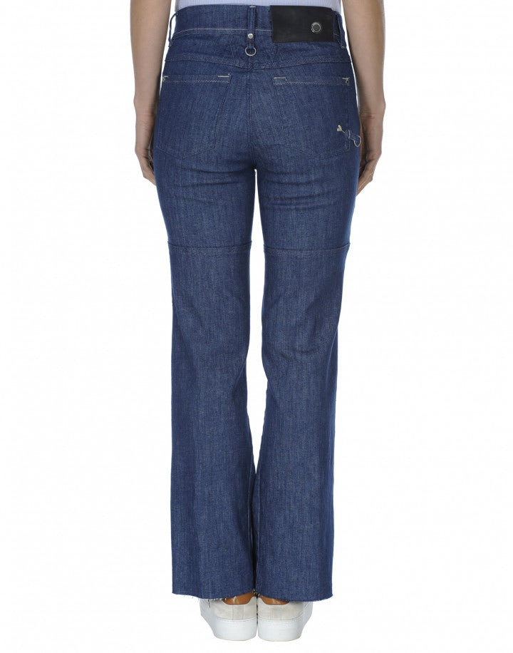 ASSERT: Jeans a campana con pannelli multipli
