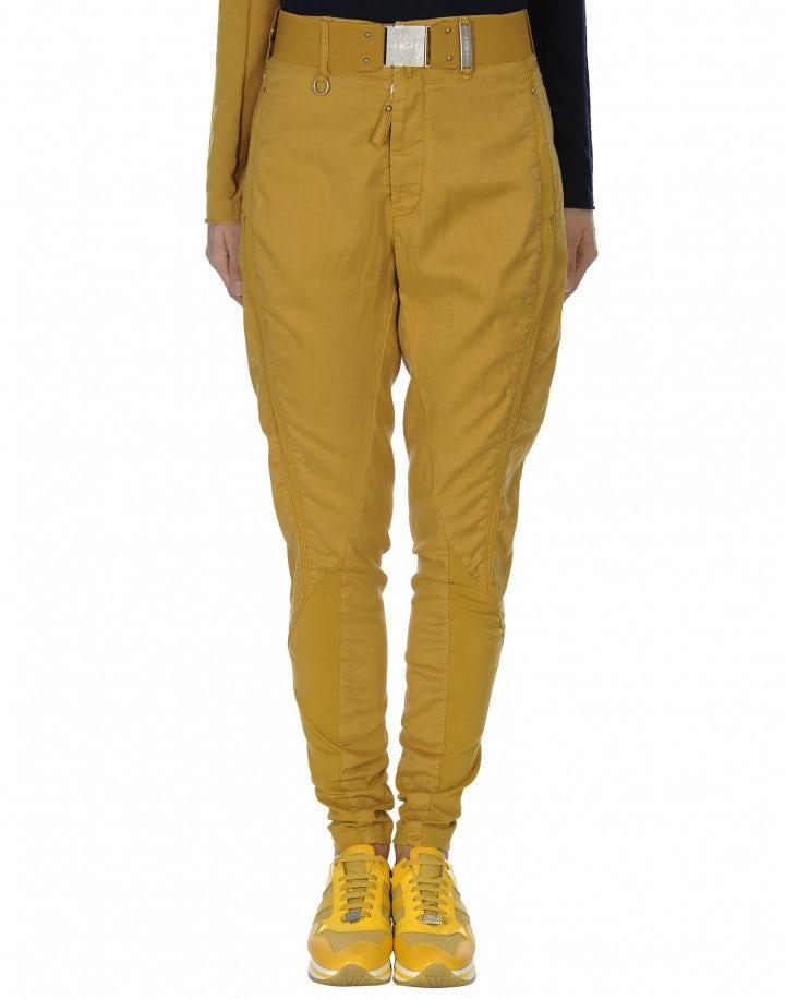 HASTY: Pantalone affusolato con cuciture diagonali