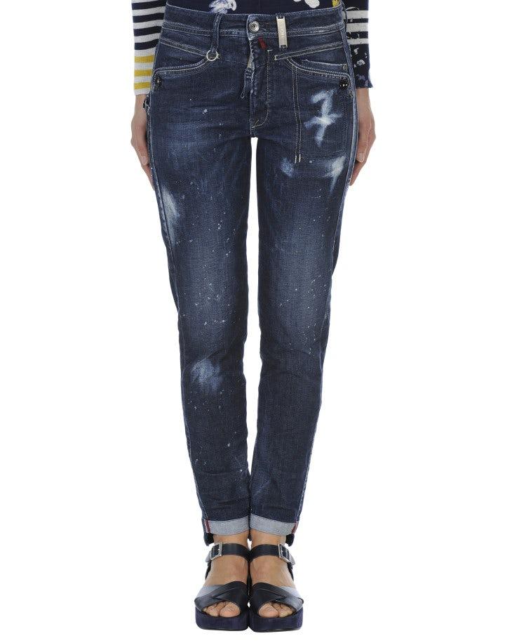 "CALL-ME: Jeans slim fit con trattamento ""Skylight"""