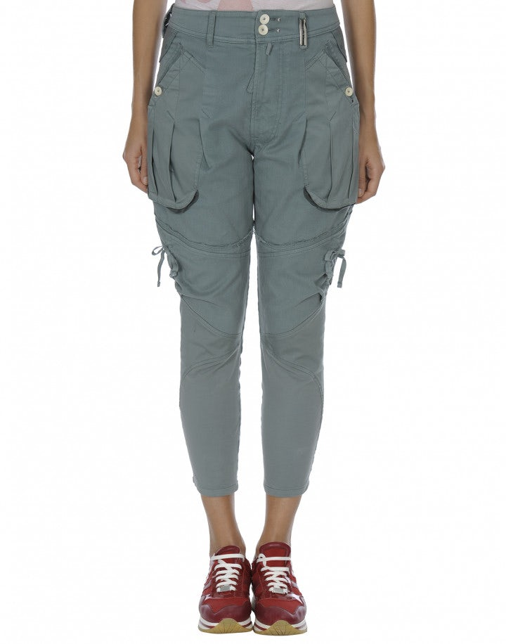 CAPER: Pantaloni con tasche a soffietto
