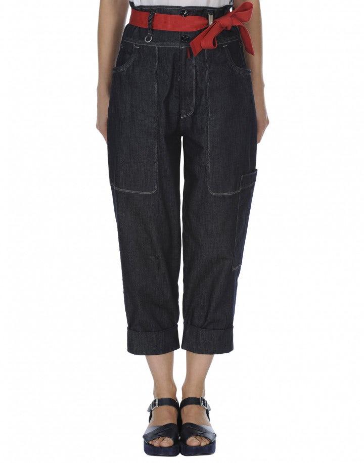 WANDER: Jeans comodi con fascione alto