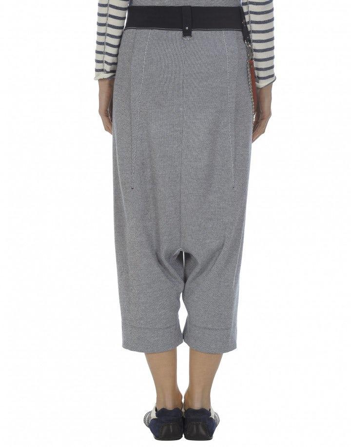 SALTIE: Gonna a pantalone rigata