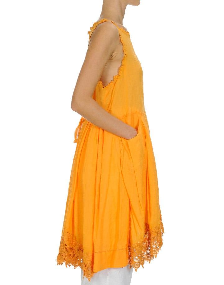 WALTZ: Marigold sleeveless dress
