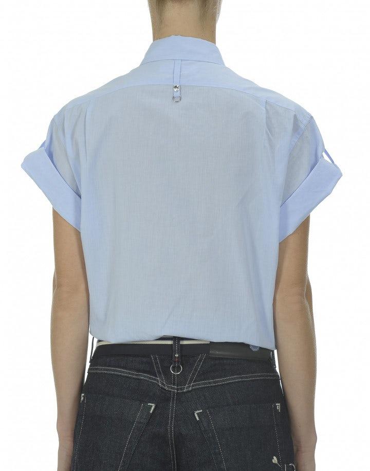 FRESH: Camicia azzurra a maniche corte