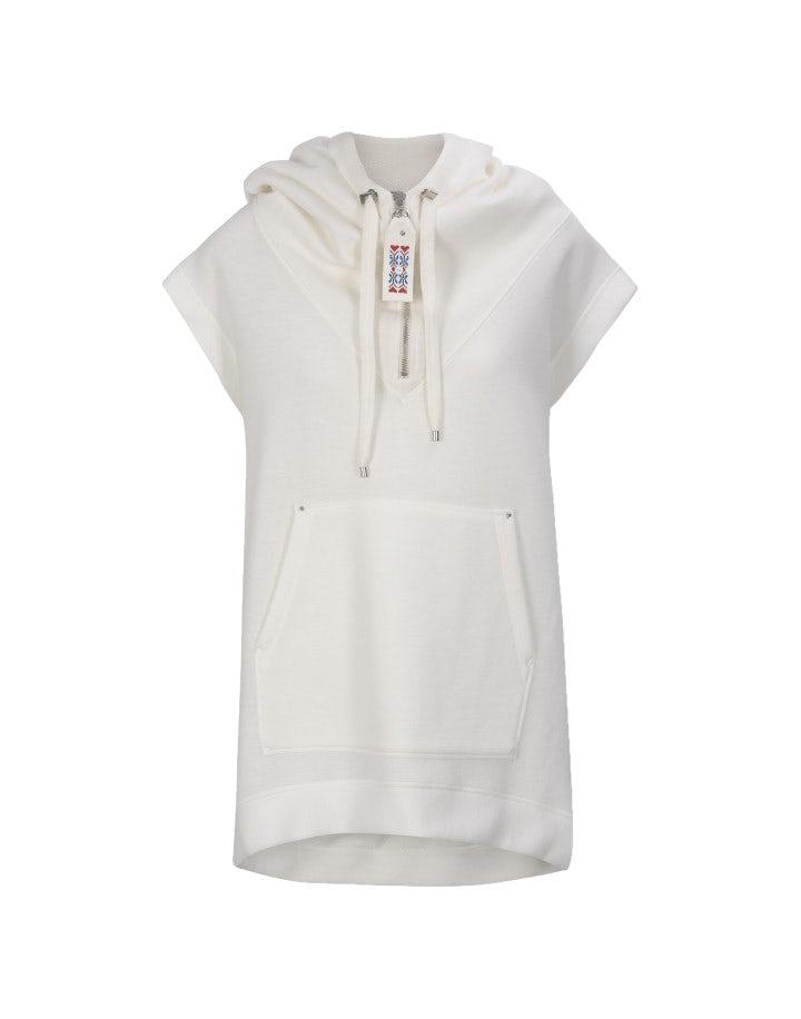 BASELINE: Tunica in jersey con cappuccio