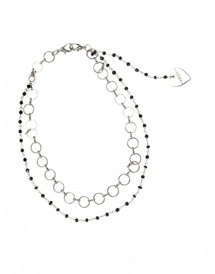 TINKER: Collana doppia con pendente a cuore