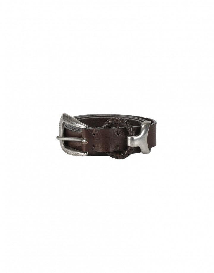 BOLT: Cintura in stile western con passante