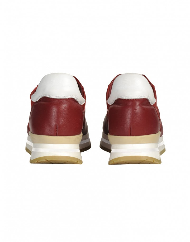 FRANTIC: Sneakers in vernice rossa
