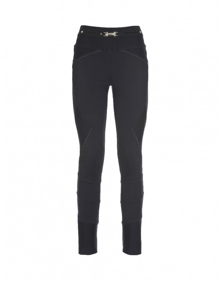 HI-LAY-OUT: Pantaloni con multi cuciture, blu navy