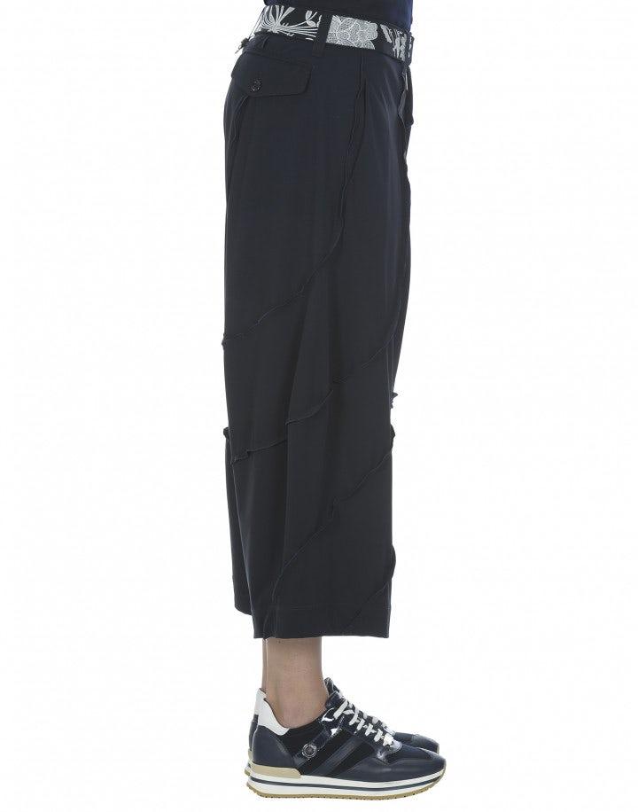 HAMMOCK: Pantaloni a palazzo, blu navy