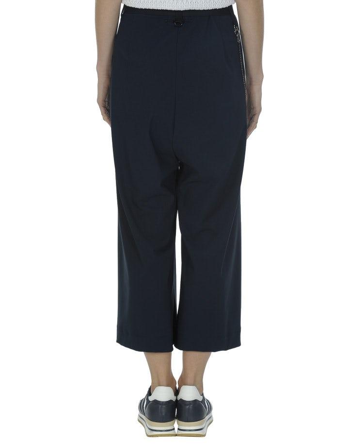 GIULIA: Pantaloni ampi, blu navy