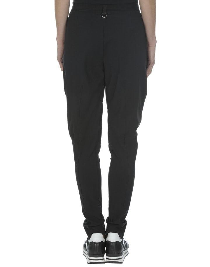 LURCH: Pantaloni Jodhpur tecnici neri