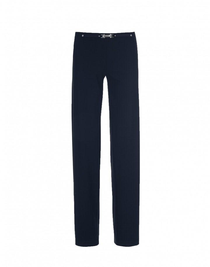PROCEED: Pantaloni dalla linea dritta, blu navy