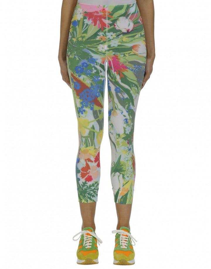HALT: Multi-colour floral Sensitive® leggings