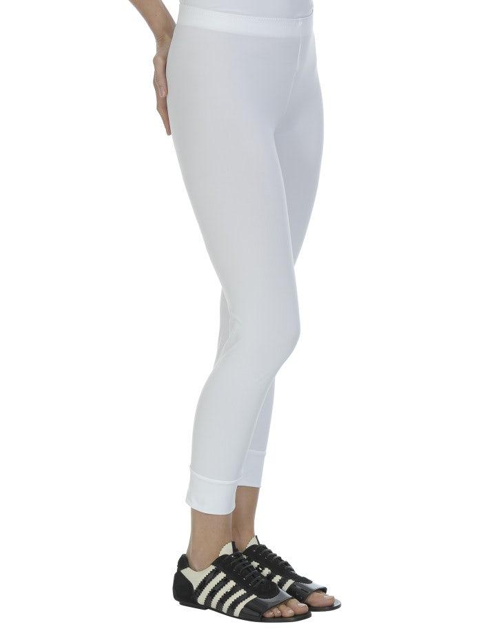 HALT: Leggings basici, bianchi