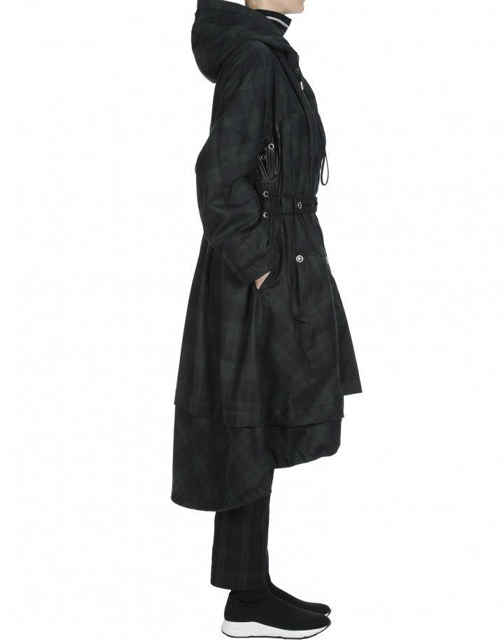 ENDURE: Long oversize parka coat