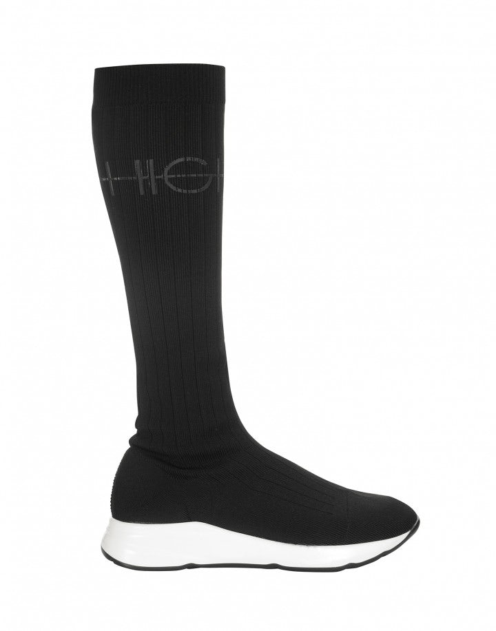 TRANSMIT: Stretch jersey sock-boot