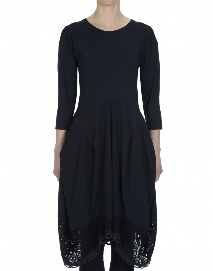 PRAISE: Navy Sensitive® dress