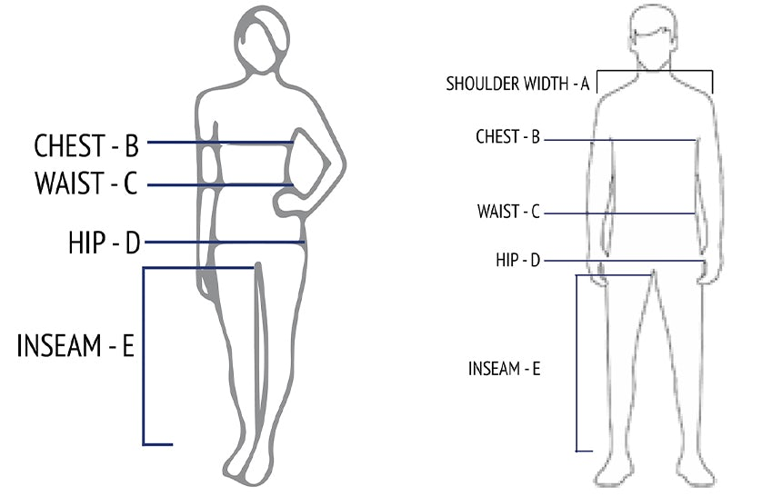 Measuring guide for bottom